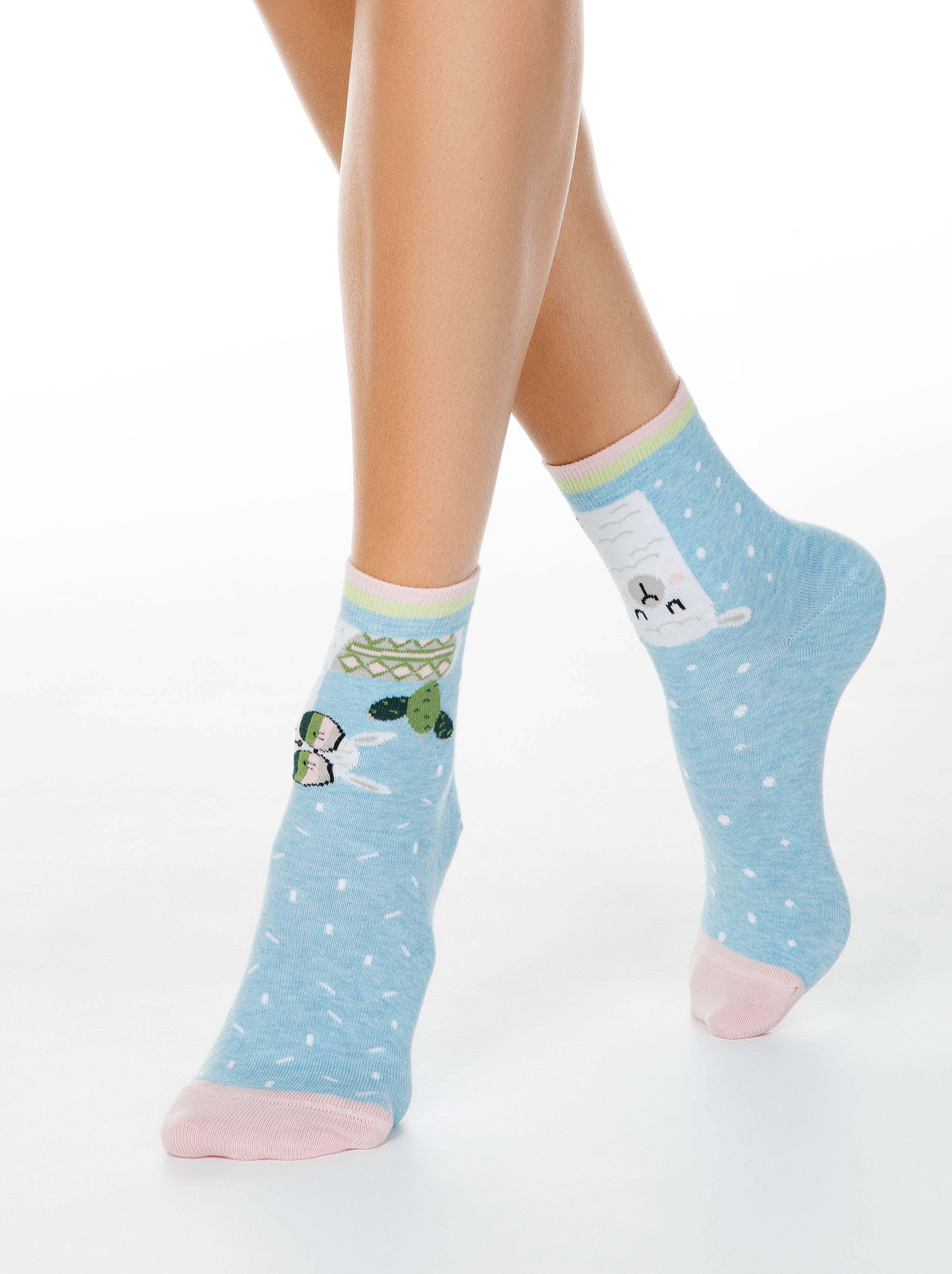 Хлопковые носки HAPPY фото