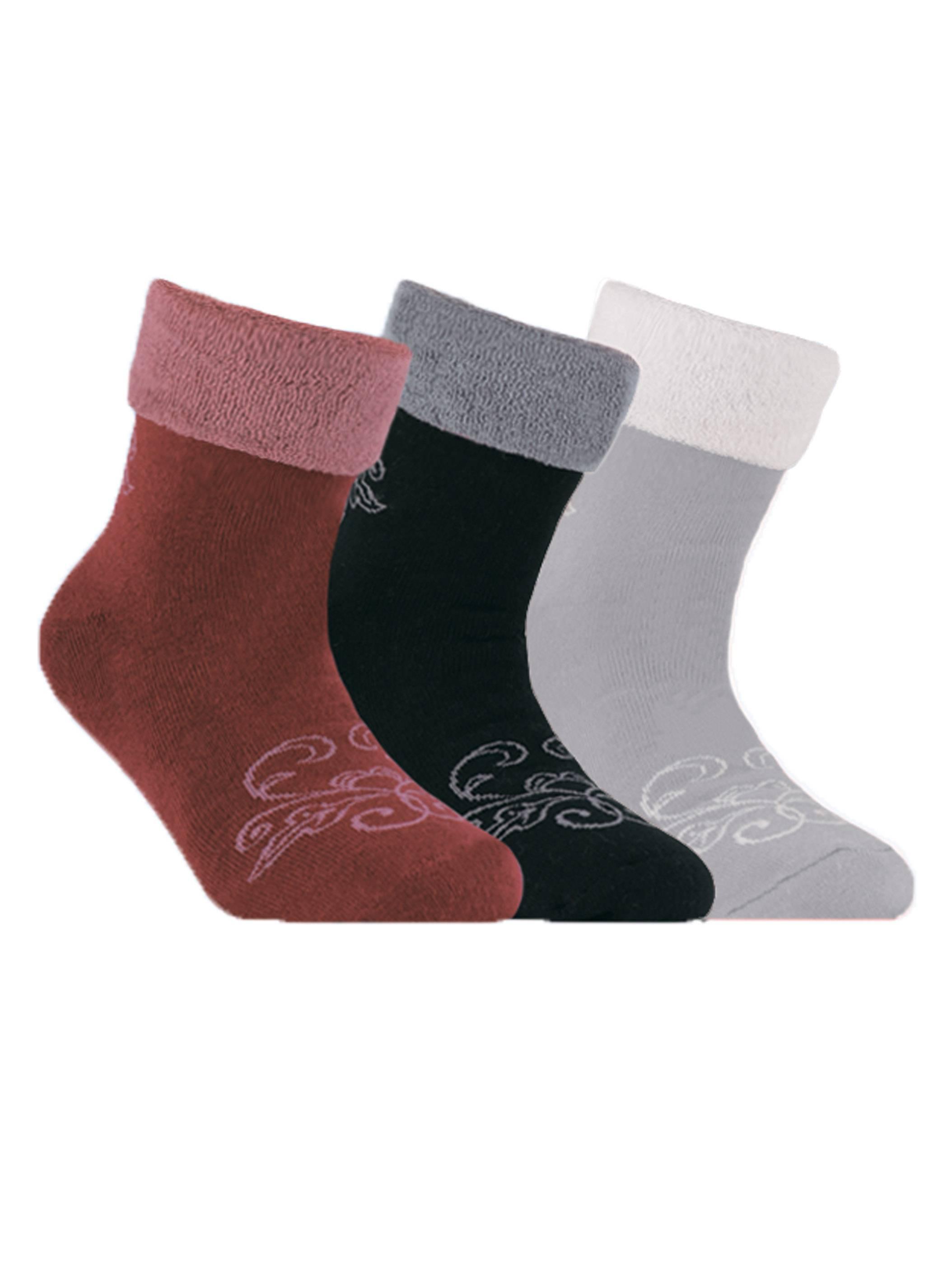 Махровые носки SOF-TIKI с отворотом фото