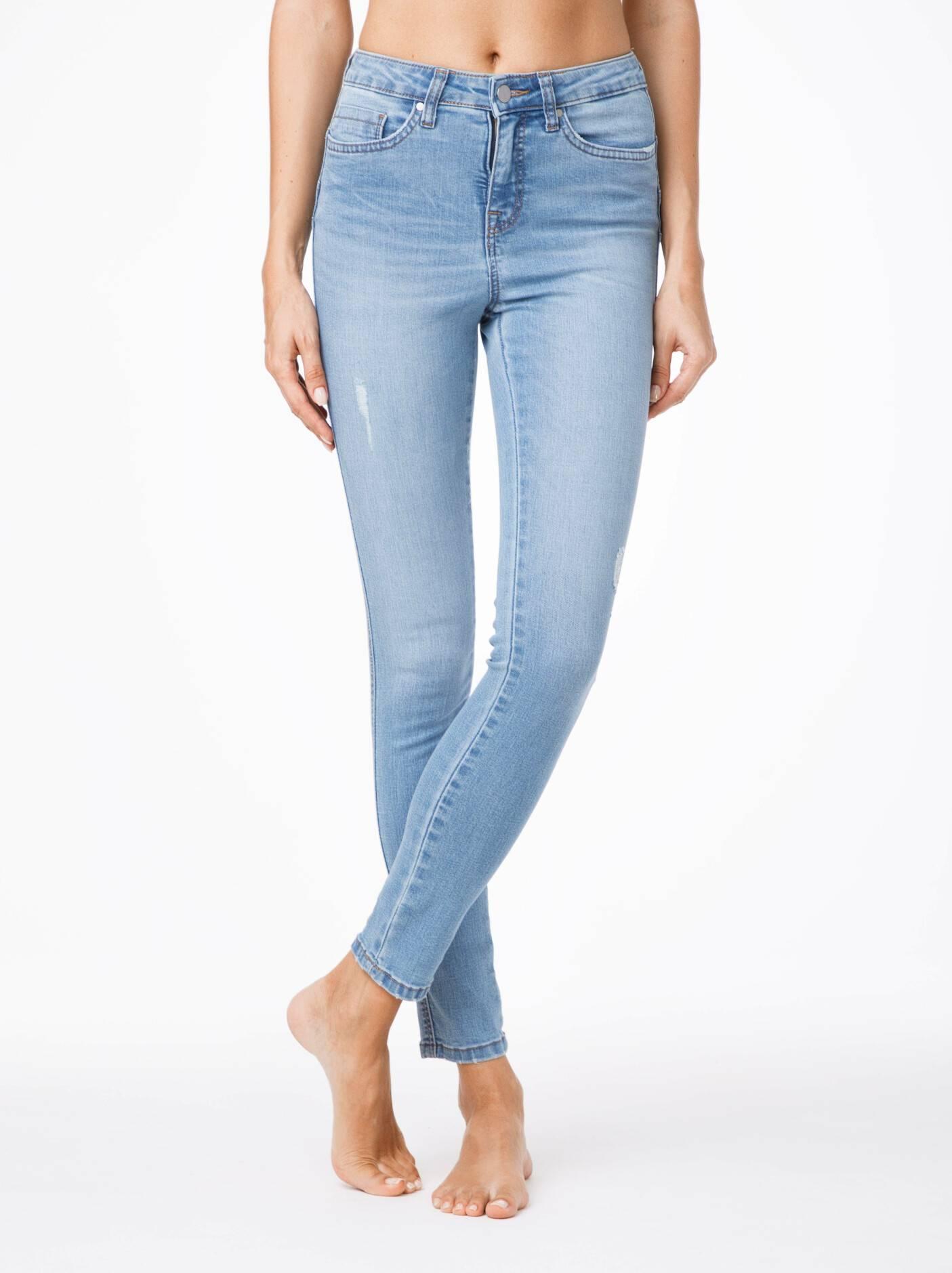 2235fab05be джинсы женские моделирующие моделирующие джинсы PUSH UP с высокой посадкой  CON-42