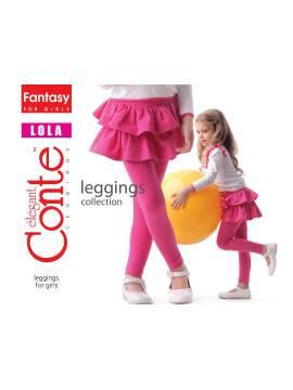 Леггинсы для девочек LOLA 14С-065ДЛСП, размер 110,116-56, цвет nero
