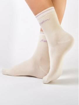 Носки хлопковые женские CLASSIC 7С-22СП, размер 25, цвет капучино