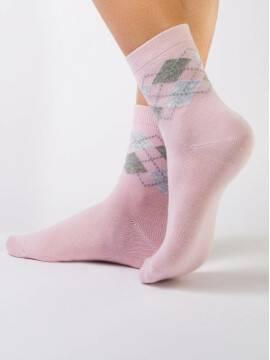 Носки хлопковые женские CLASSIC 7С-22СП, размер 25, цвет светло-розовый