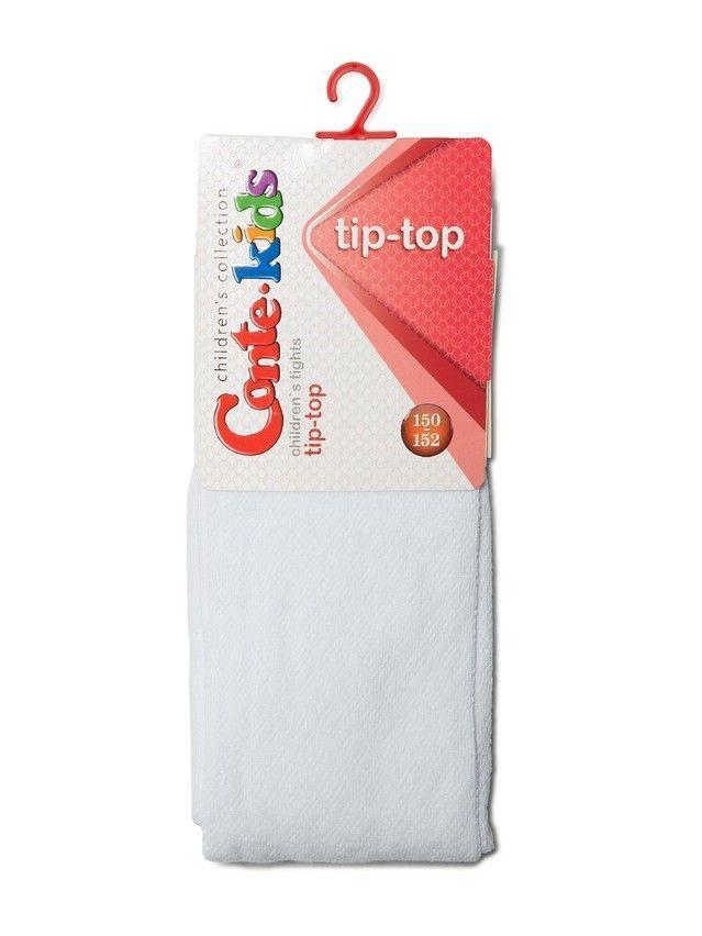 Колготки хлопковые детские TIP-TOP 4С-06СП, p. 140-146, белый, рис. 365 - 2