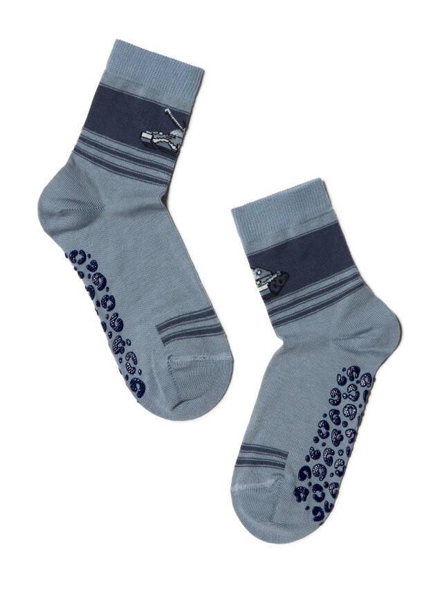 Носки хлопковые детские TIP-TOP (антискользящие) 7С-54СП, p. 16, серый, рис. 161 - 1