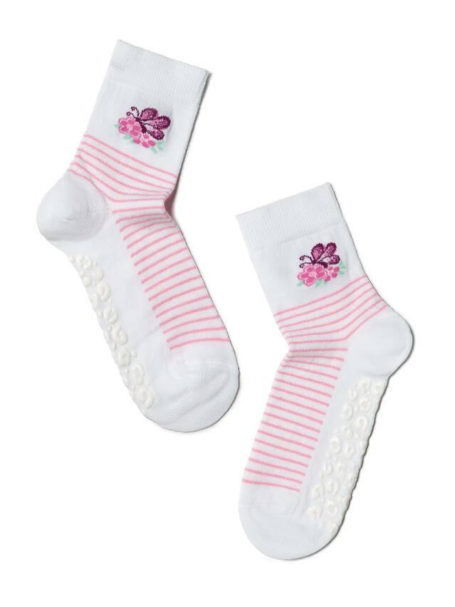 Носки хлопковые детские TIP-TOP (антискользящие) 7С-54СП, p. 16, белый, рис. 160 - 1