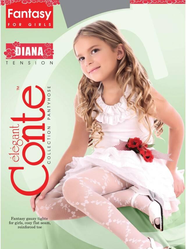 Колготки полиамидные детские DIANA 8С-101СП, p. 104-110, pink - 2