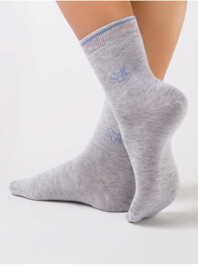 Носки хлопковые женские COMFORT (меланж) 7С-52СП, р. 36-37, серый, рис. 021 - 1