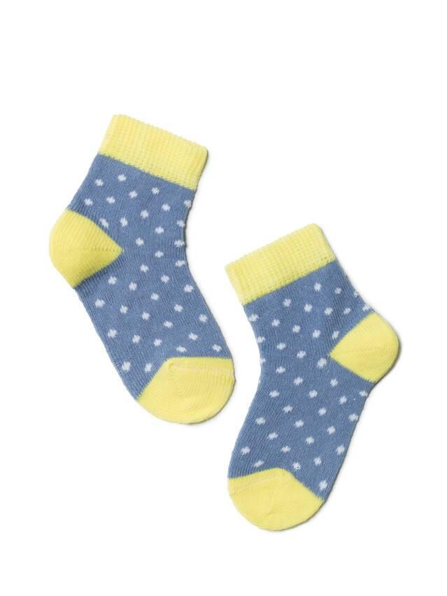 Носки хлопковые детские TIP-TOP 5С-11СП, p. 10, джинс-желтый, рис. 214 - 1