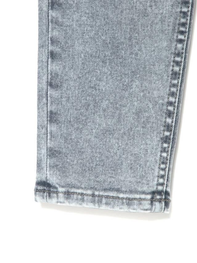 Джинсы skinny с супервысокой посадкой CON-216, р.170-102, acid washed grey - 9