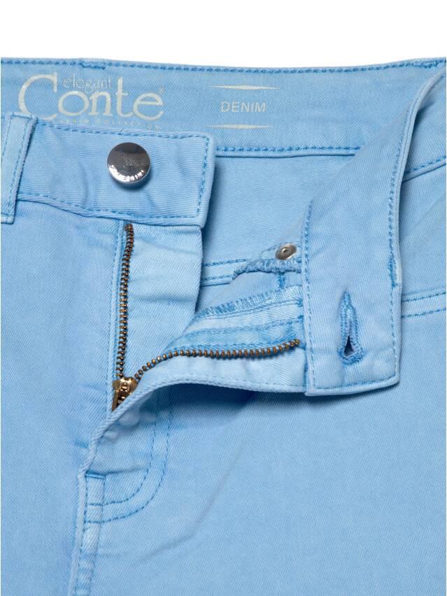 Джинсы skinny с высокой посадкой CON-237, р.170-102, washed lavander blue - 7