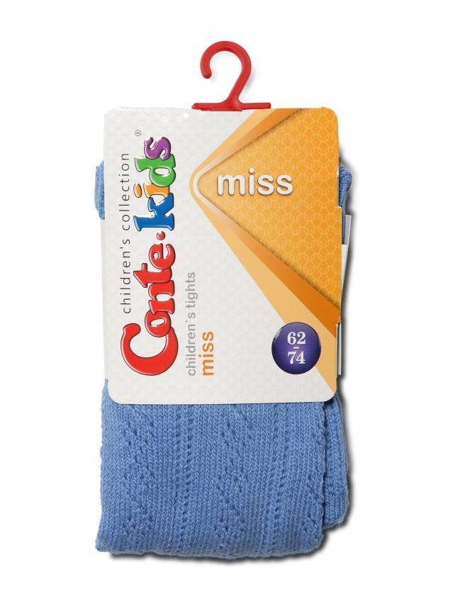 Колготки хлопковые детские MISS (ажурные) 7С-80СП, p. 62-74, голубой, рис. 266 - 2