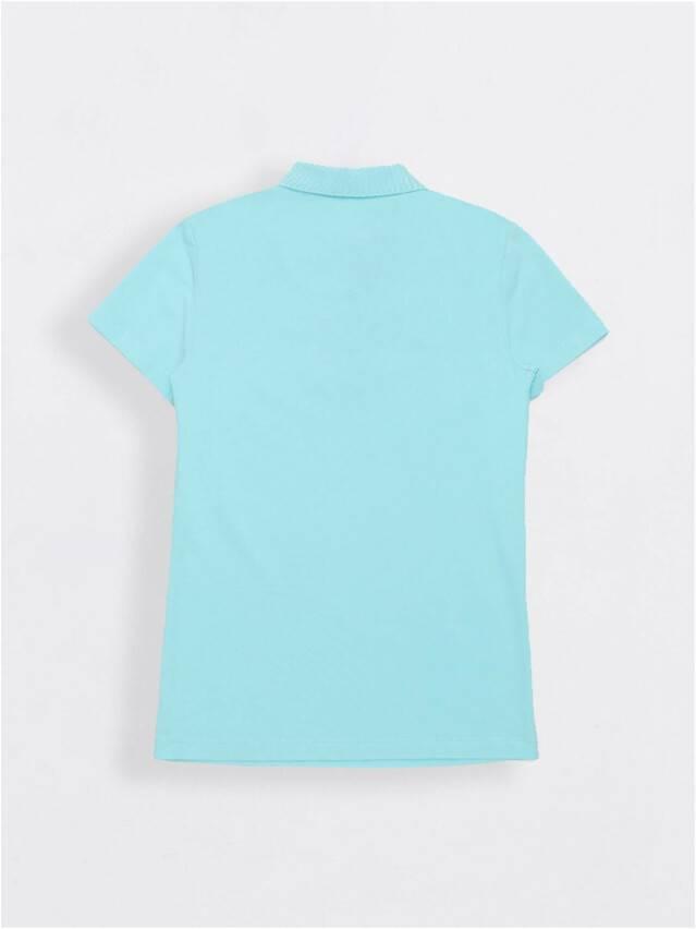 Футболка-поло LD 927, р.170-100, aqua blue - 2