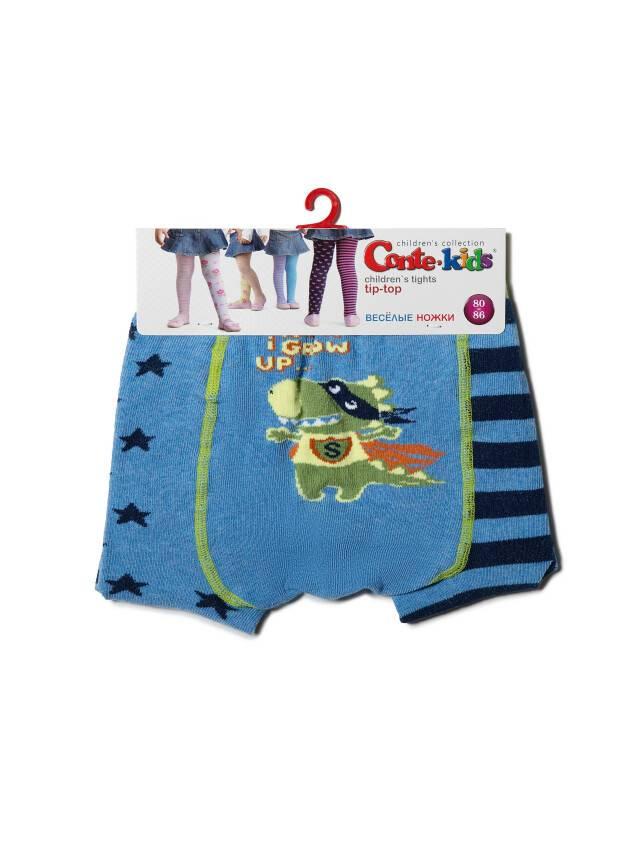 Колготки хлопковые детские TIP-TOP (веселые ножки) 14С-79СП, p. 62-74, голубой, рис. 358 - 3