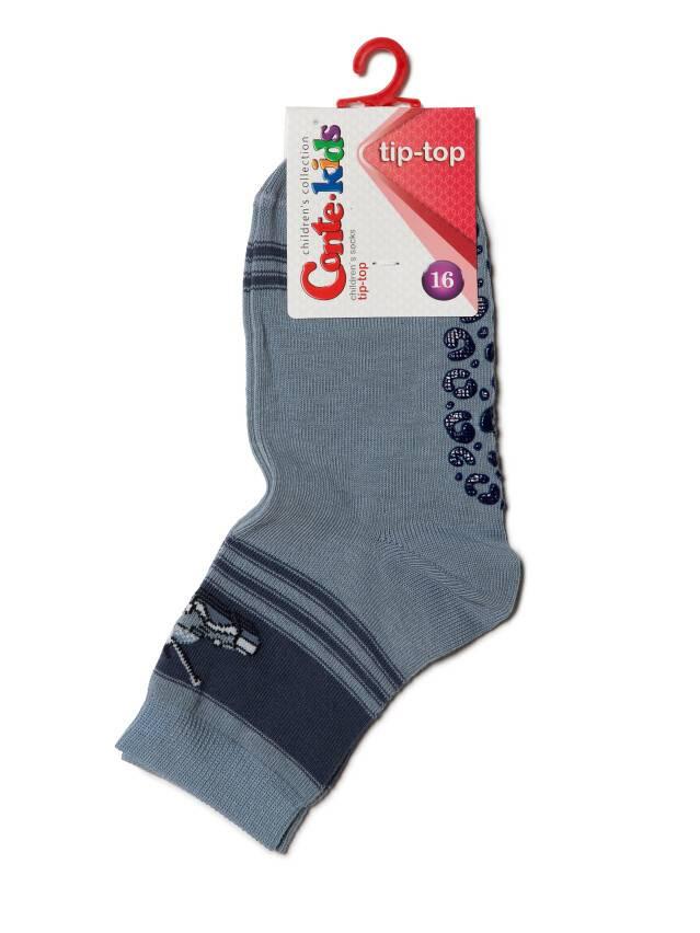 Носки хлопковые детские TIP-TOP (антискользящие) 7С-54СП, p. 16, серый, рис. 161 - 3