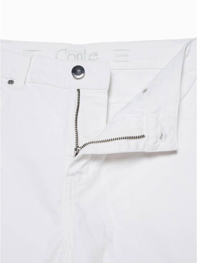 Джинсовые брюки с высокой посадкой CON-243, р.170-102, white - 7