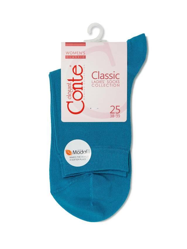 Носки вискозные женские CLASSIC (микромодал) 13С-64СП, р. 36-37, темно-бирюзовый, рис. 000 - 3