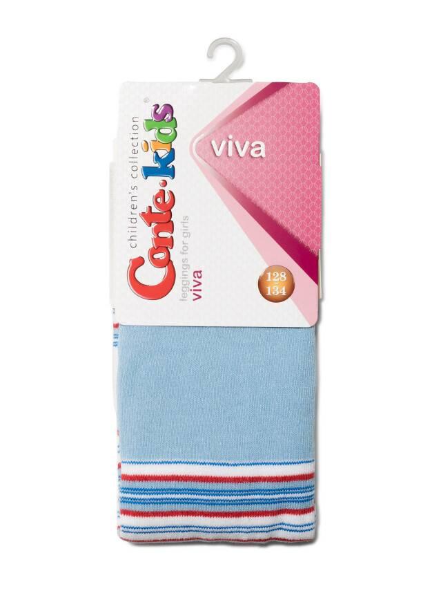Леггинсы для девочек VIVA 6С-14СП, p. 128-134, голубой, рис. 007 - 2
