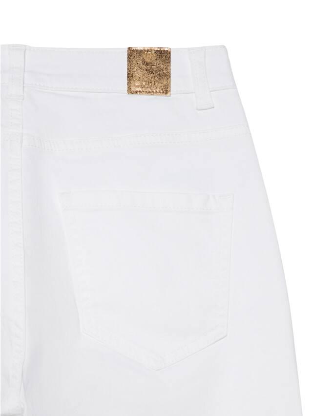 Джинсовые брюки с высокой посадкой CON-243, р.170-102, white - 9