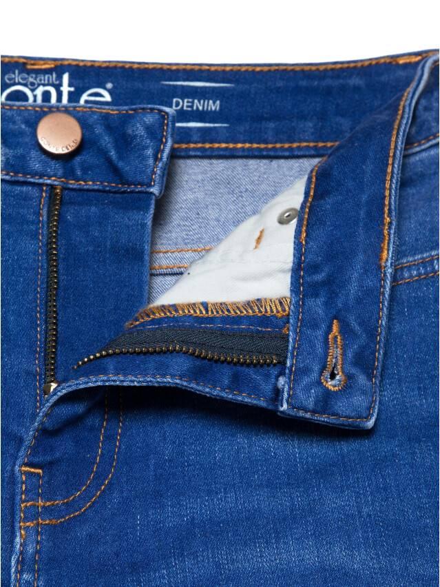 Джинсы skinny с высокой посадкой CON-217, р.170-102, washed royal blue - 7
