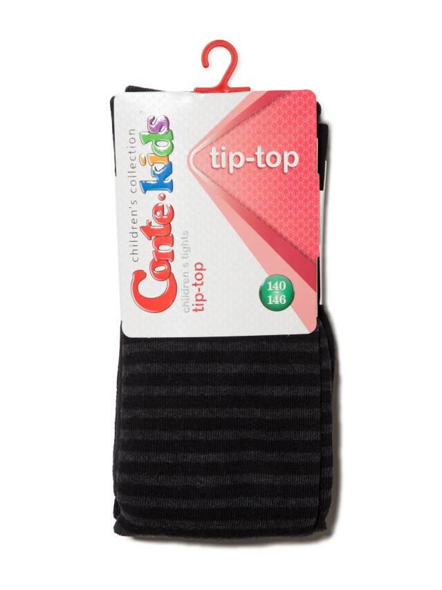 Колготки хлопковые детские TIP-TOP 4С-06СП, p. 140-146, черный, рис. 350 - 1