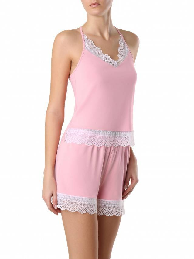 Women's shorts for home COMFORT LOUNGEWEAR LHW 990, s.170-90, primerose pink - 3