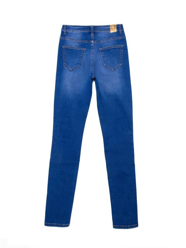 Джинсы skinny с высокой посадкой CON-217, р.170-102, washed royal blue - 5
