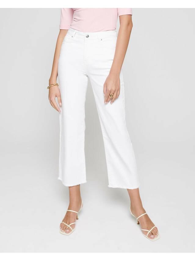 Джинсовые брюки с высокой посадкой CON-243, р.170-102, white - 2
