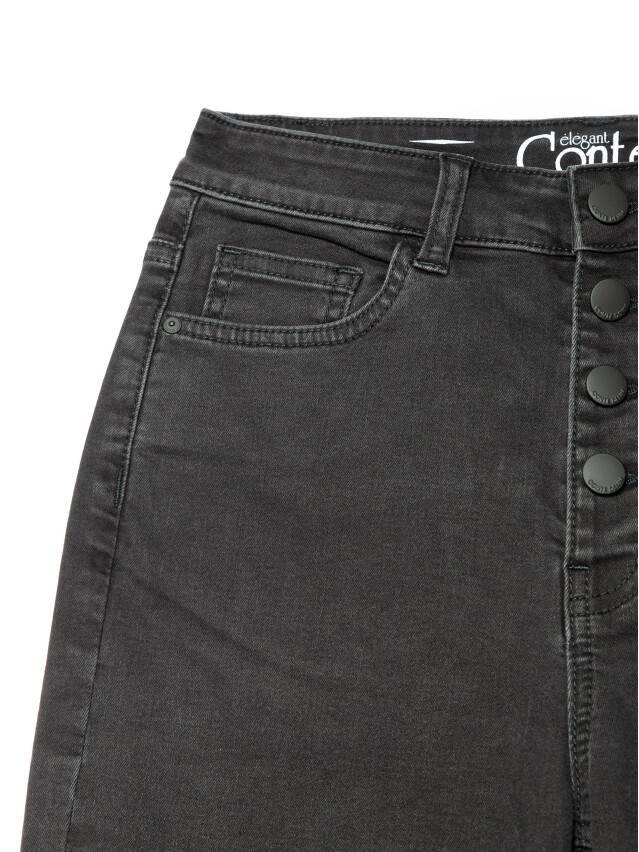 Брюки джинсовые женские CE CON-286, р.170-102, washed black - 7