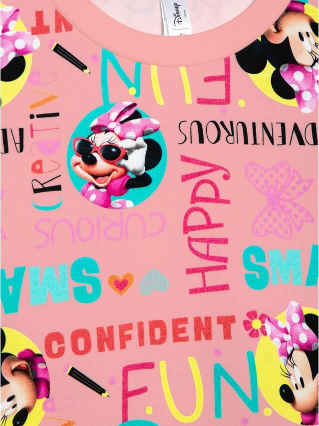 Джемпер для девочек ©Disney DD 968, р.98,104-52, pink fun - 5