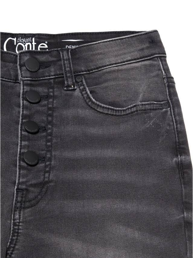 Джинсы skinny с высокой посадкой CON-225, р.170-102, washed black - 7