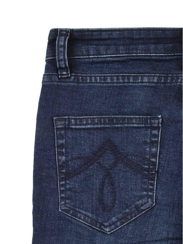 Джинсы со средней посадкой 623-100D, p. 170-102, темно-синий - 8