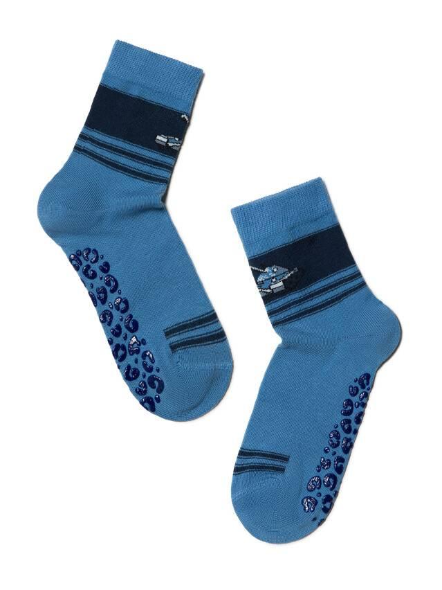 Носки хлопковые детские TIP-TOP (антискользящие) 7С-54СП, p. 16, темно-голубой, рис. 161 - 1