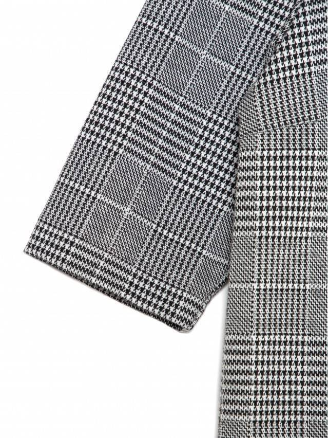 Платье LPL 1052, р.164-84-90, grey-ivory check - 8