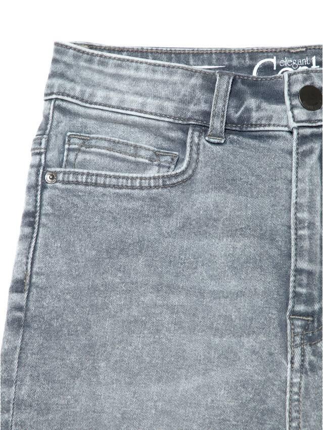 Джинсы skinny с супервысокой посадкой CON-216, р.170-102, acid washed grey - 6