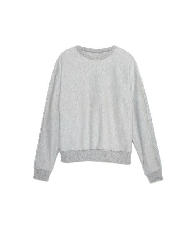 Свитшот LD 1043, р.170-100, shiny grey - 4