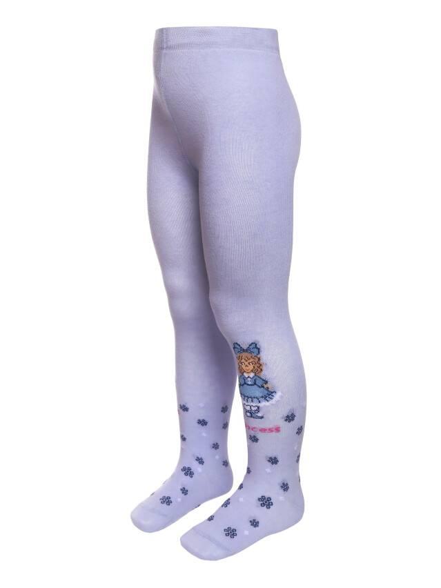 Колготки хлопковые детские TIP-TOP 4С-03СП, p. 104-110, бледно-фиолетовый, рис. 346 - 1