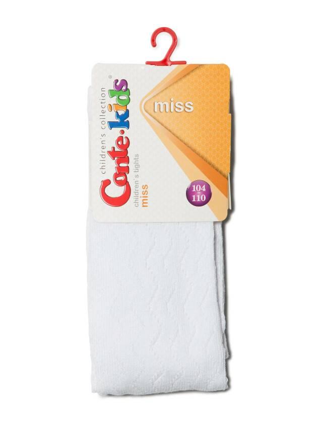 Колготки хлопковые детские MISS (ажурные) 7С-80СП, p. 104-110, белый, рис. 268 - 2