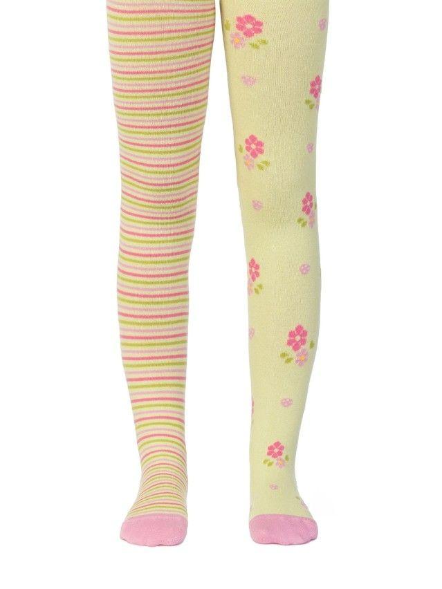 Колготки хлопковые детские TIP-TOP (веселые ножки) 14С-79СП, p. 62-74, салатовый, рис. 357 - 1