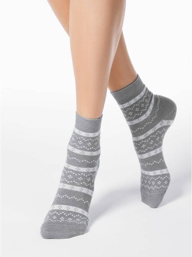 Носки хлопковые женские CLASSIC 15С-15СП, р. 36-37, серый, рис. 062 - 1