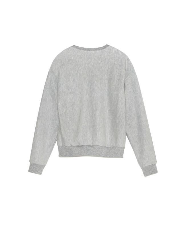 Свитшот LD 1043, р.170-100, shiny grey - 5