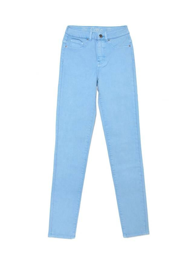 Джинсы skinny с высокой посадкой CON-237, р.170-102, washed lavander blue - 4