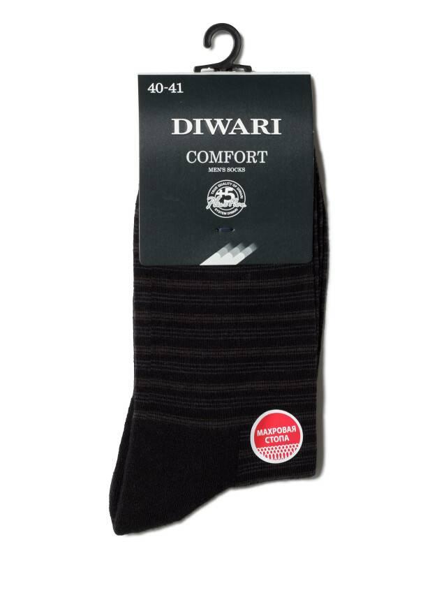 Носки мужские COMFORT (махровая стопа) 6С-18СП, р. 40-41, черный, рис. 012 - 2