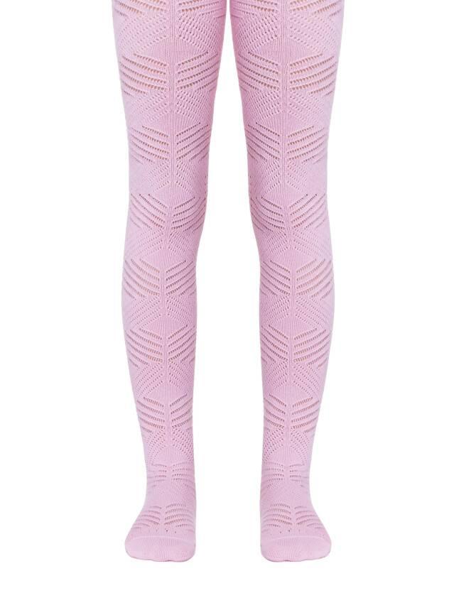 Колготки хлопковые детские MISS (ажурные) 7С-80СП, p. 140-146, светло-розовый, рис. 274 - 1
