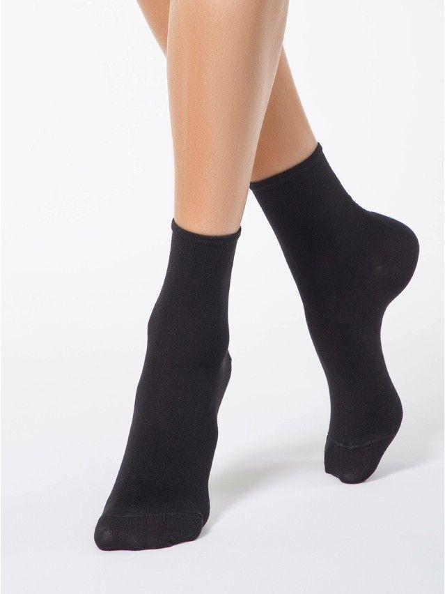 Носки вискозные женские BAMBOO 13С-84СП, р. 36-37, черный, рис. 000 - 1