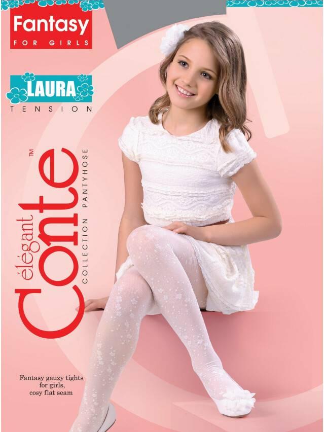 Колготки полиамидные детские LAURA 14С-5СП, p. 104-110, pink - 1