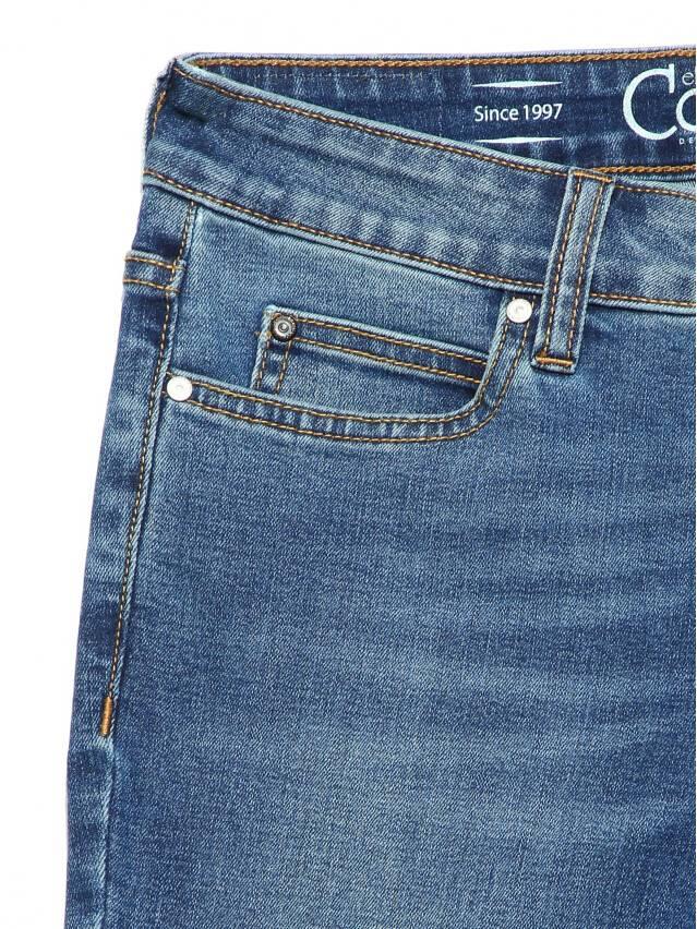 Джинсы skinny со средней посадкой CON-182, р.170-102, authentic blue - 7
