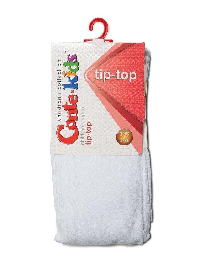 Колготки хлопковые детские TIP-TOP 4С-04СП, p. 116-122, белый, рис. 364 - 2