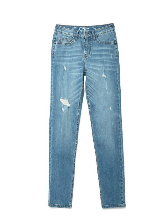 Джинсы Straight Fit со средней посадкой CON-145, р.170-102, mid blue - 3