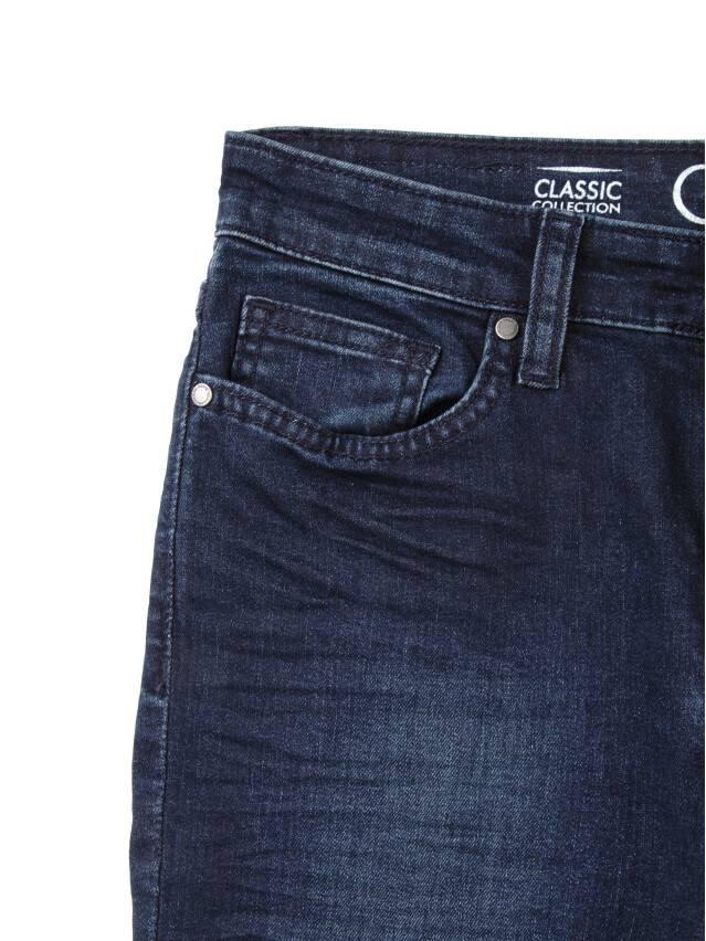 Джинсы со средней посадкой 623-100D, p. 170-102, темно-синий - 7