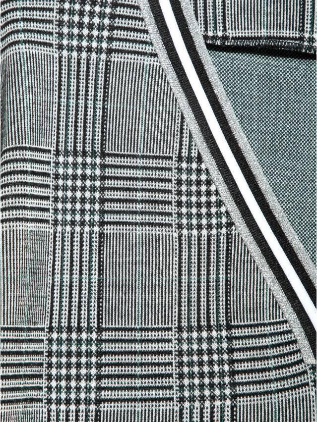 Ультрамодное платье А-силуэта в клетку LPL 893 7